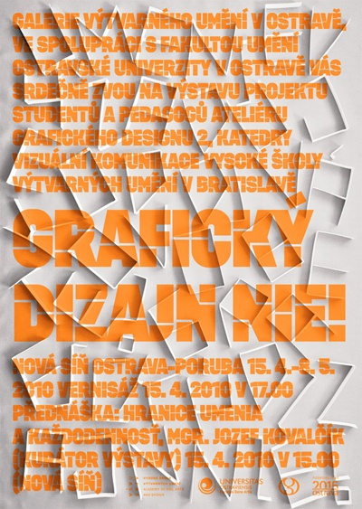 Dezen Typeface in use // Design by: Martina Obertova