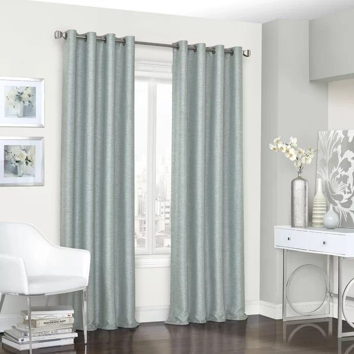 Pin By Mary Claus On House Plans In 2020 Blue Blackout Curtains