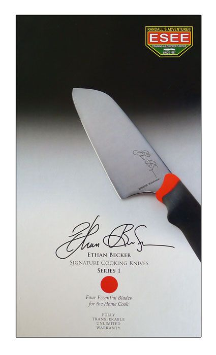 ESEE Ethan Becker Signature Cooking Knives 45