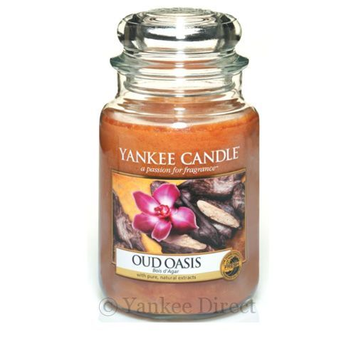 Yankee Candles UK | Yankee Candle Oud Oasis Large Jar