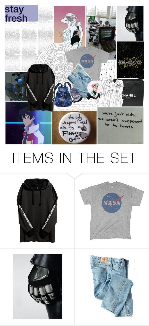 """-Defenders of the Universe, huh? Has a nice ring to it.-"" by child-of-the-galaxy ❤ liked on Polyvore featuring art, voltron and YOUDONTKNOWME"