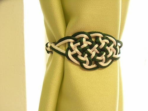 Chinese knot curtain tie backs