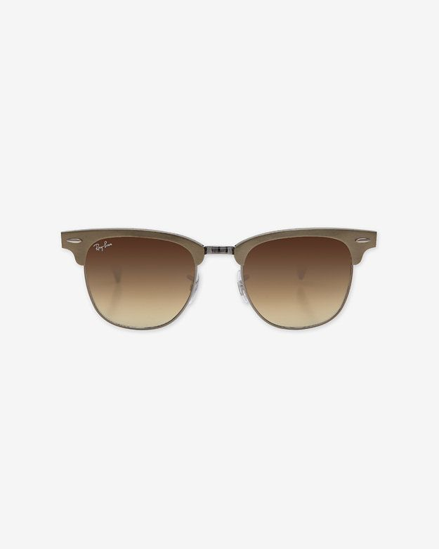 Ray-Ban Clubmaster Sunglasses: Gold