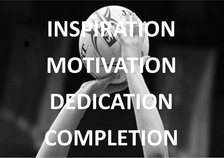 INSPIRATION MOTIVATION DEDICATION COMPLETION