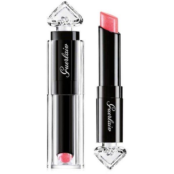 Guerlain La Petite Robe Noire Lipstick found on Polyvore featuring beauty products, makeup, lip makeup, lipstick, guerlain, shiny lipstick, guerlain lipstick, gloss lipstick and lip gloss makeup