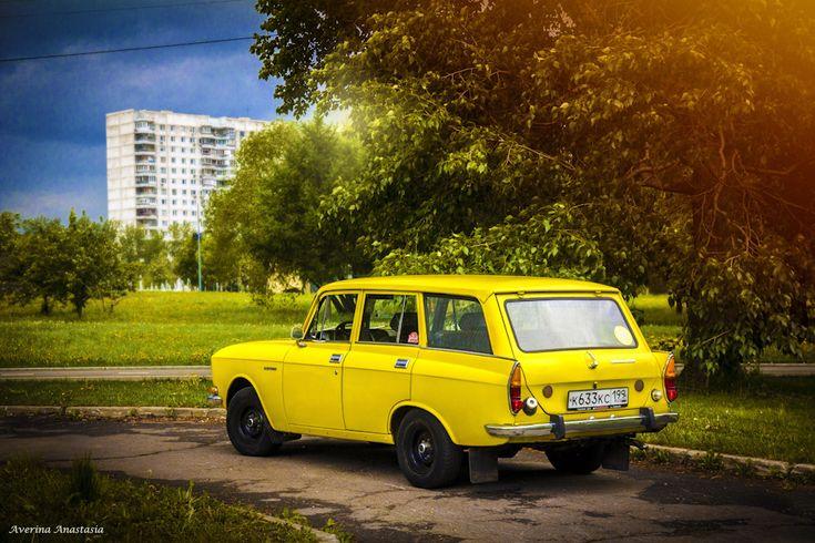 Красивые автомобили. Москвич 2137