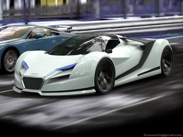 Audi R10 hypercar Concept | CG Daily news