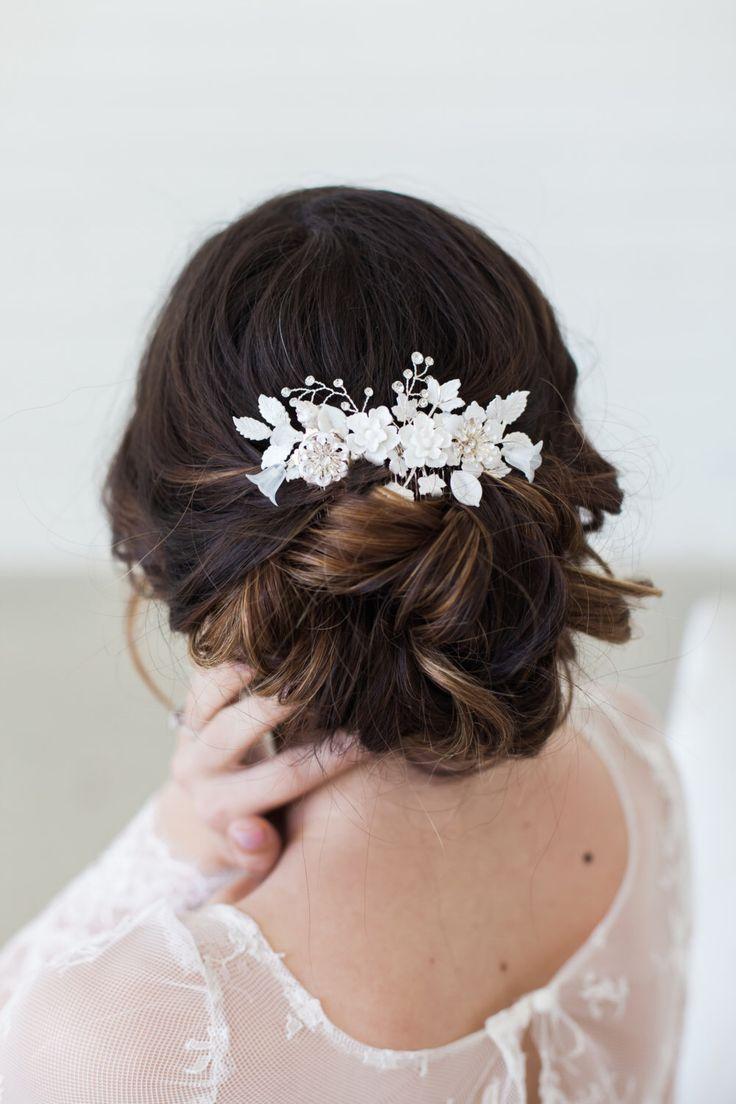 Bridal Hair Accessories Pinterest | Fade Haircut