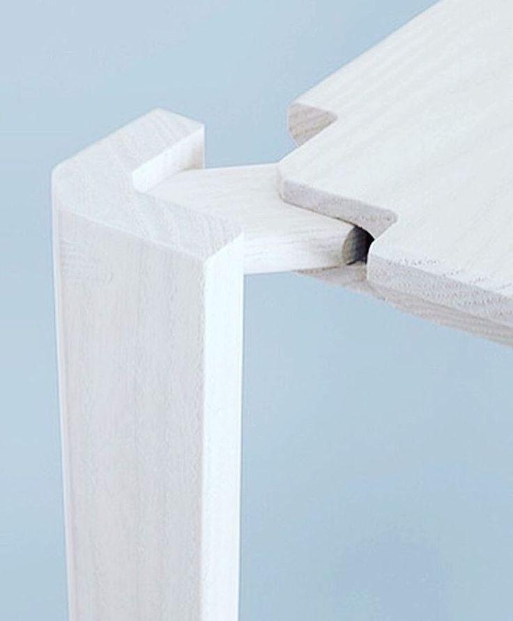 "1,949 Likes, 10 Comments - db - design bunker (@designbunker) on Instagram: ""Satisfying woodwork! #wood #woodwork #joint #furniture #table #desk #shelf #joinery #carpentry…"""