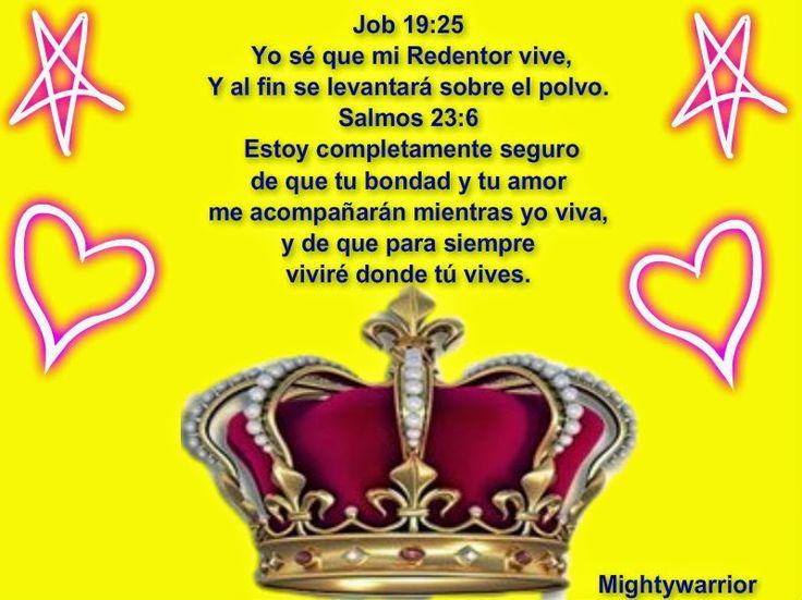 """JESUS PODEROSO GUERRERO: Job19:25~~~ """" Yo se que mi redentor vive """""""