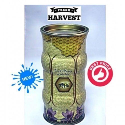 Thyme Raw Honey TinCan 900g from mountain Rsiloriti Crete island NEW HARVEST #CreteHoney