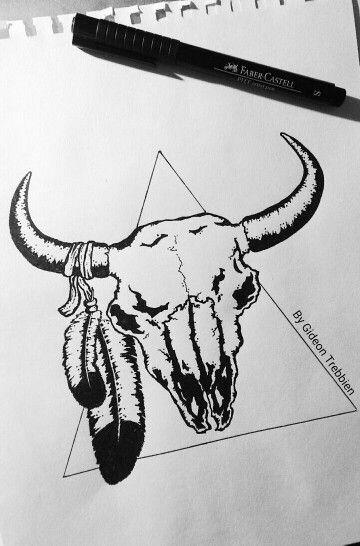 Resting Bull Design by Gideon Trebbien
