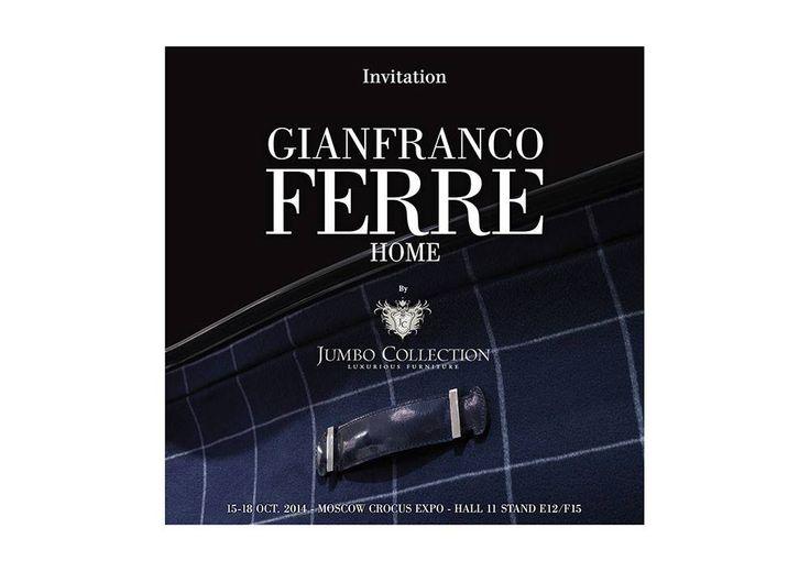 Gianfranco Ferré Home | iSaloni Mosca Crocus Expo 2014