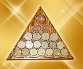 Талисман на деньги «Магический треугольник богатства»
