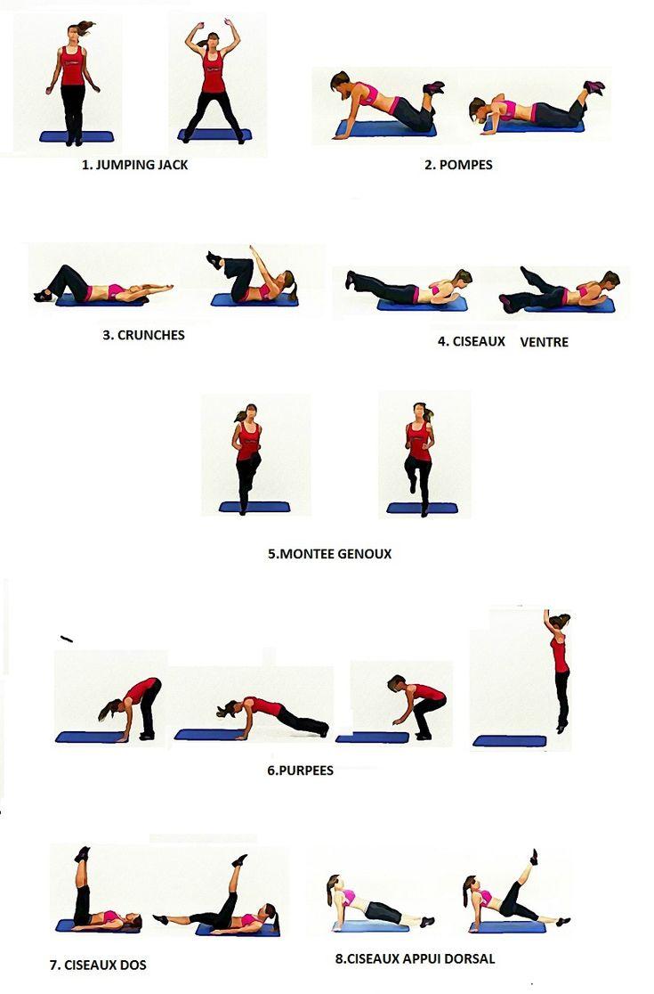 Séance interval training pour brûler des calories (3). Comment perdre du poids en pratiquant une séance interval training. Suivez la vidéo