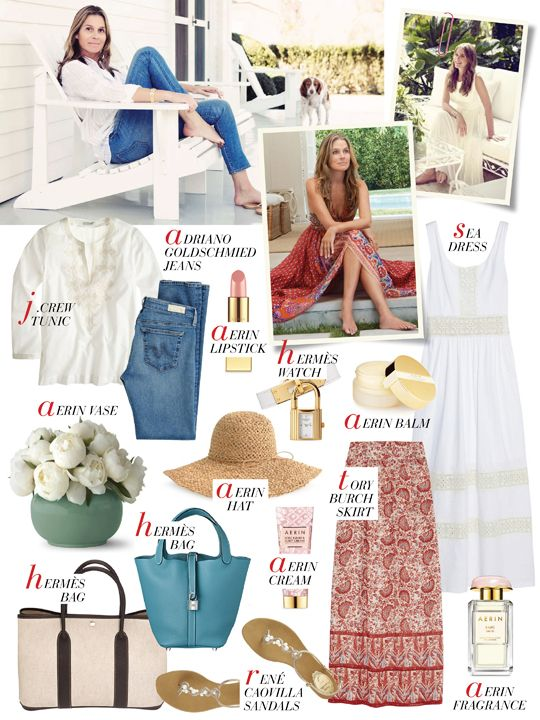 Mizhattan - Sensible living with style: *GET HER LOOK* Aerin Lauder