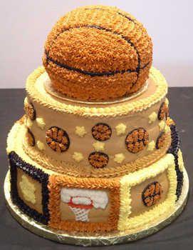 basquetbol | Nuevos modelos de torta con temas deportivos | Fiesta101