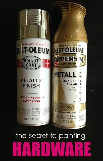 10 Spray Paint Tips: what you never knew about spray paint (like how to spray paint furniture hardware!). Good to know! Check this out! by maricela