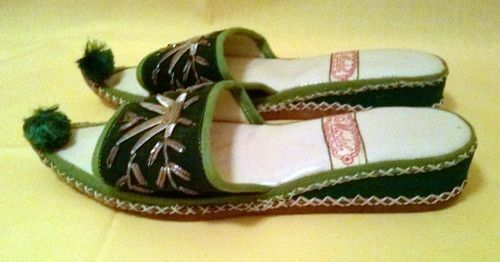 Vintage Turkish Persian Slippers Size 5 | eBay