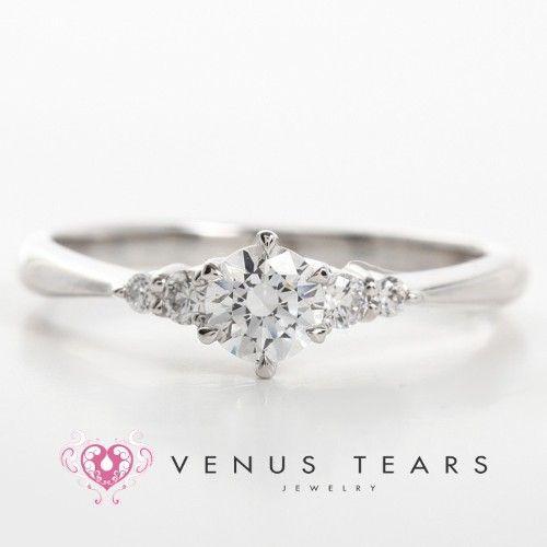 VENUS TEARS プラチナのエンゲージリング・婚約指輪一覧❤