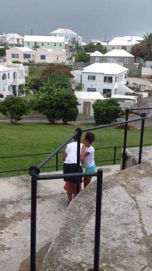Cousins and best friends. Bermuda