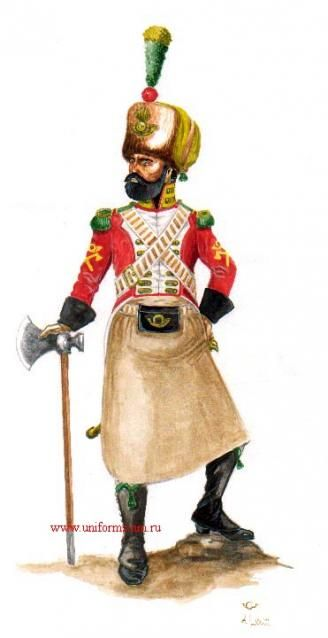 Naples Voltigeur Royal Guard Sapper