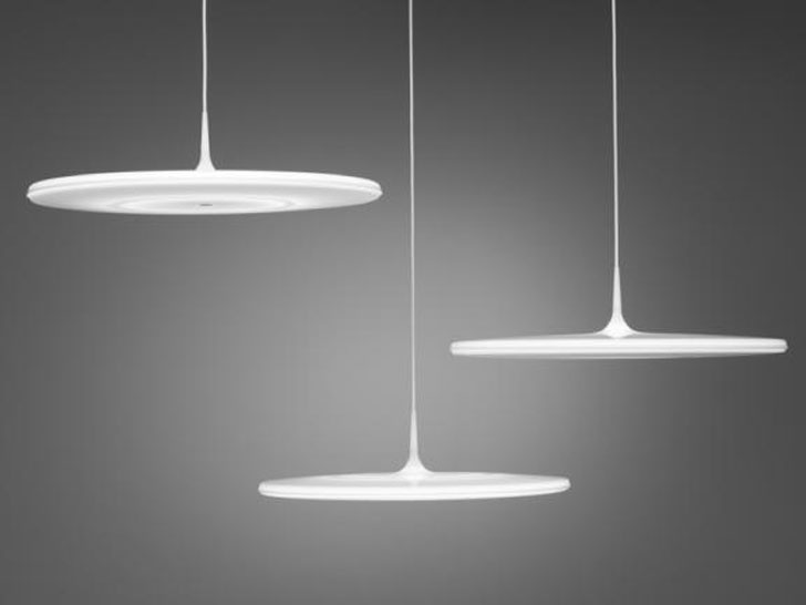 """Tip"", a much pinned pendant light by Finnish designer Tapio Anttila."