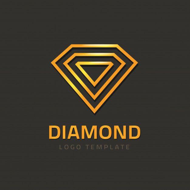 Logo Vectoriel De Diamant Ou Logo Bijou Jewel Logo Diamond Logo Diamond Outline