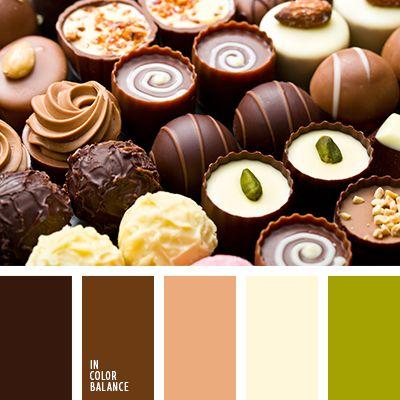зеленый, коричневый, подбор цвета, теплые оттенки коричневого, цвет зеленого яблока, цвет капучино, цвет корицы, цвет кофе, цвет кофе с молоком, цвет кофейных зерен, цветовое решение для дизайна, цветовые сочетания.
