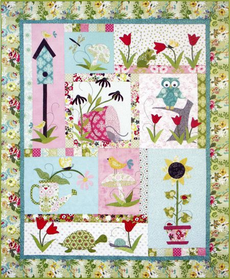 Tuella Friends Block of the Month #quilts #quilting