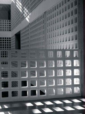 Vent Blocks Facade Brick Architecture Concrete Bricks
