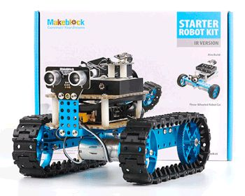 Makeblock Starter robot kit - STEM / DIY educational programmable electronic robot kit