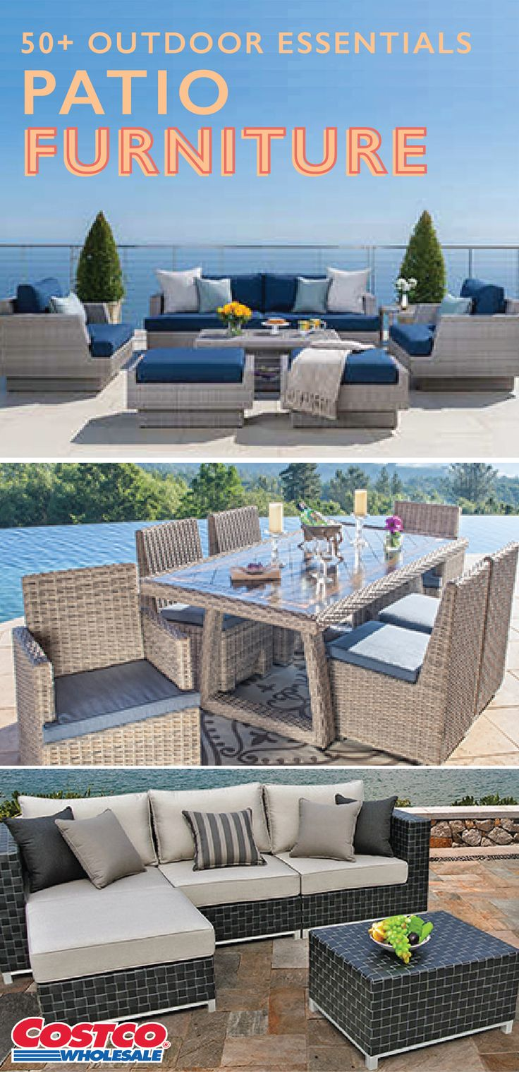 Best 20 Costco Patio Furniture Ideas On Pinterest Small Deck Space Small Outdoor Patios And