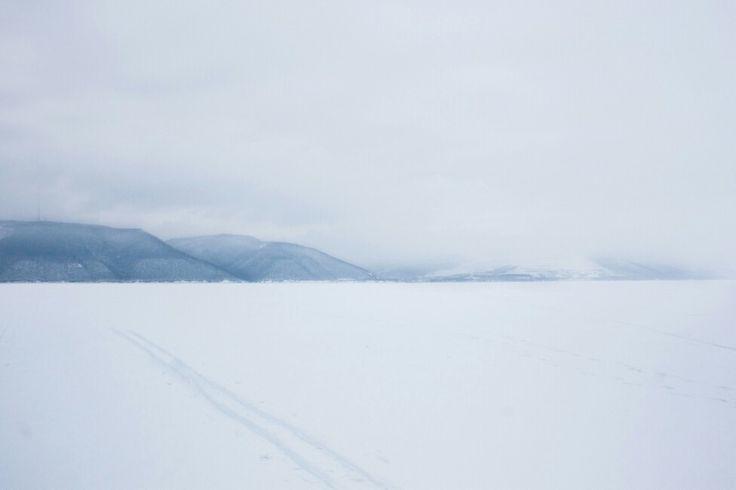 Волга. Тольятти. Зима.