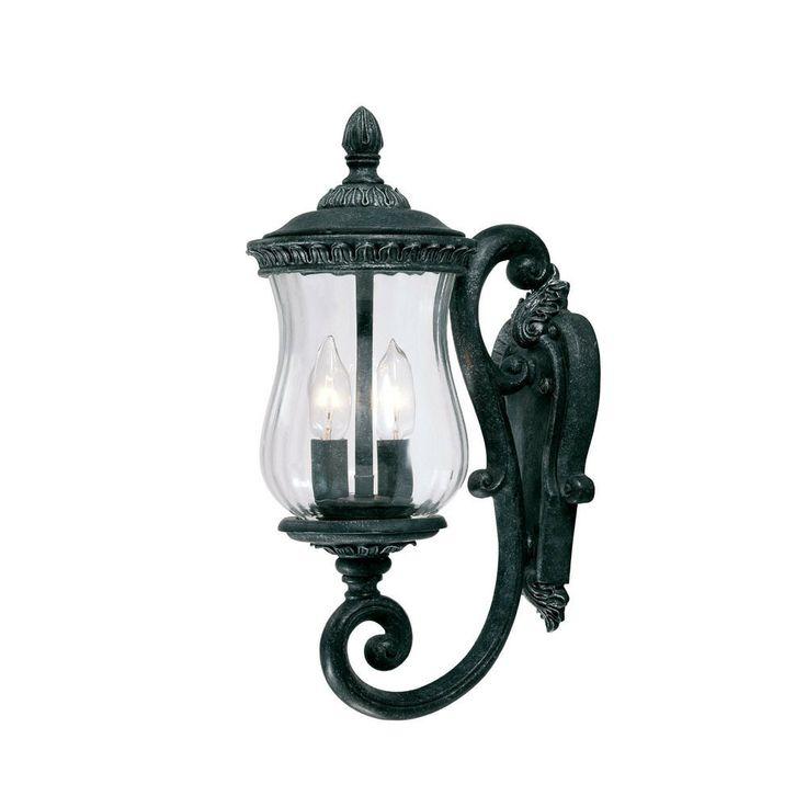 64 best outdoor lighting images on pinterest outdoor walls bel air collection wall mount 2 light outdoor stone light fixture overstock aloadofball Choice Image