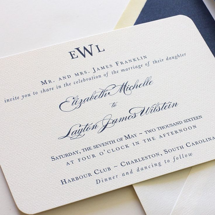 fast shipping wedding invitations%0A Monogram Wedding Invitation Navy Wedding by blushpaperie on Etsy