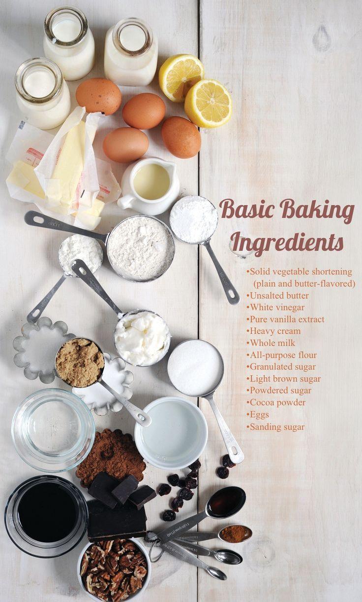 Basic Pie Baking Ingredients  Relish