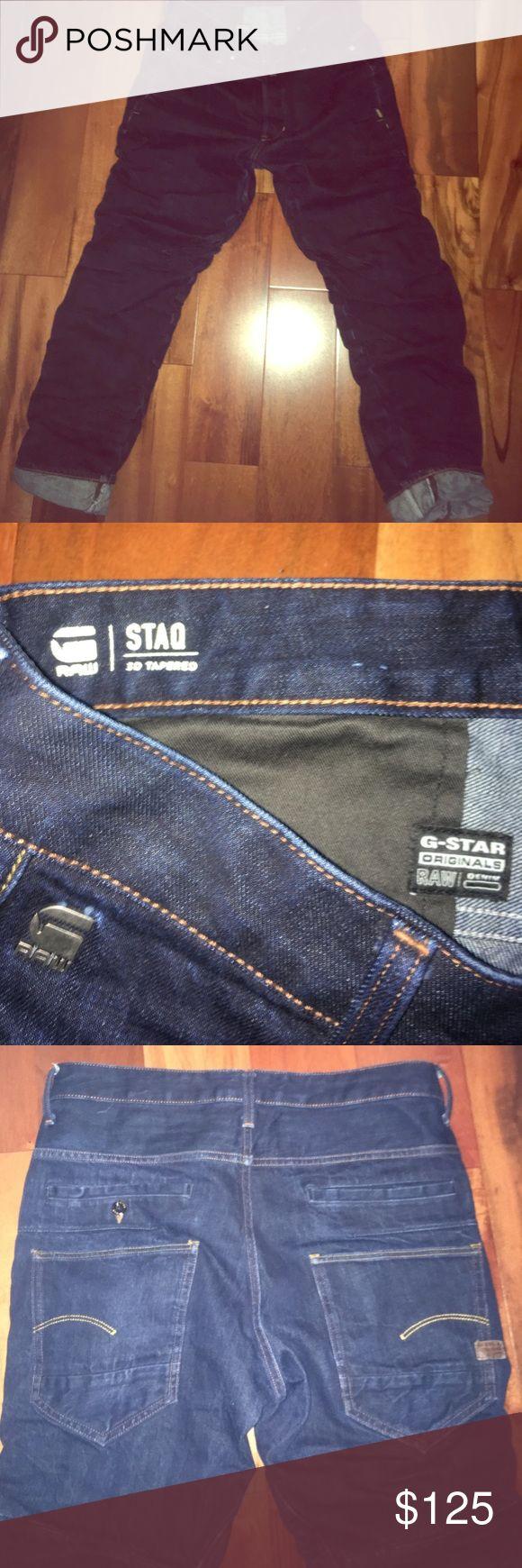 G-Star Jeans G-Star RAW STAQ 3D Tapered Jeans 31/30 G-Star Jeans Slim