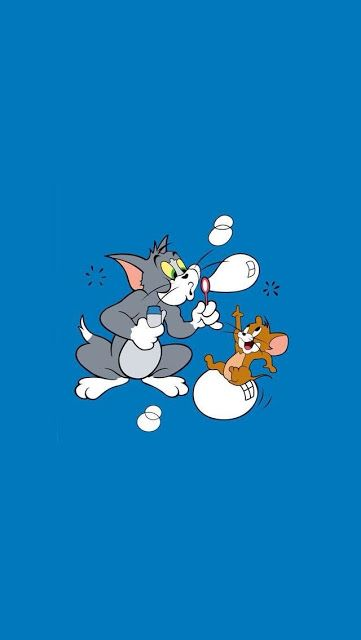 tom and jerry wallpapers in 2020   Tom and jerry ...