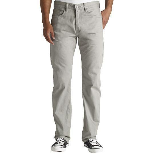 Levi s 505 regular-fit jeans are made for the guy who wants comfort with great style. sits below waist regular, comfortable fit through seat and thigh straight legs cotton washable imported... More Details