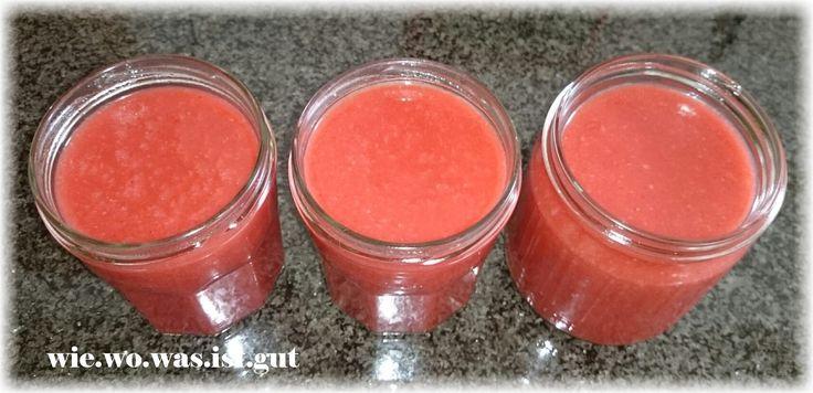 Erdbeer-Kokos-Samt Marmelade....mein absoluter Liebling zur Zeit
