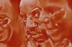 Flohic, Philippe : Portrait Papous