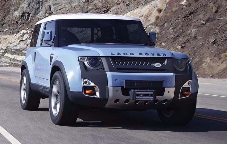 2018 Land Rover Defender overview