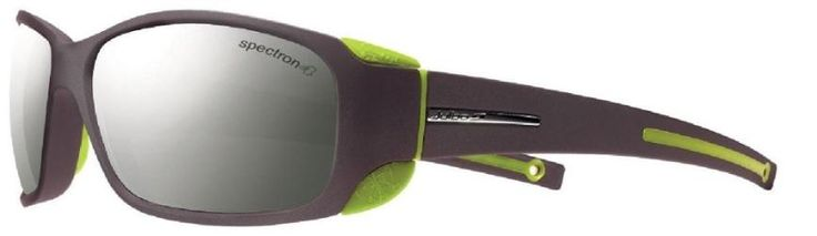 Julbo Men's MonteBianco Glacier Sunglasses Black/Lime Spectron 4