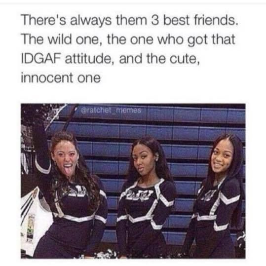 The ultimate 'Best Friend Meme' - Everyone has these 3 best friends - check it out!