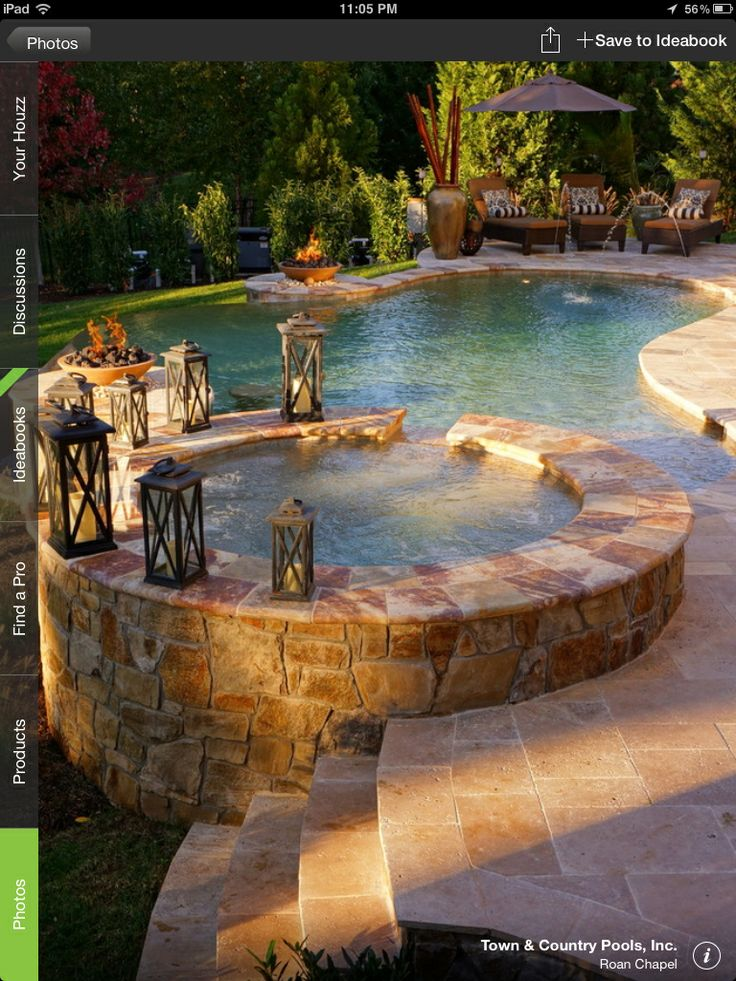 1000  images about hot tub ideas  jacuzzi  and spa on pinterest