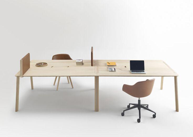 office working table. iratzoki lizaso heldu working tables alki designboom office table f