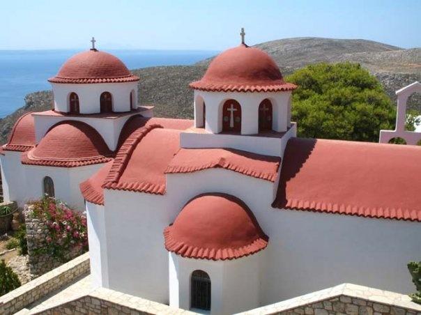 St. Savvas monastary. Kalymnos.