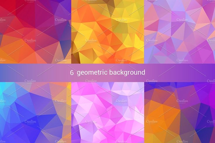 Geometric background by DikayaMiau on @creativemarket
