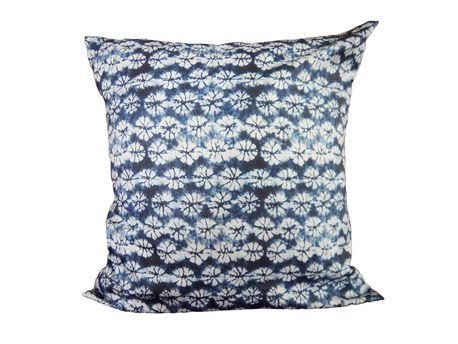 Shibori No.2 Organic cotton cushion cover by The Organic Mamas